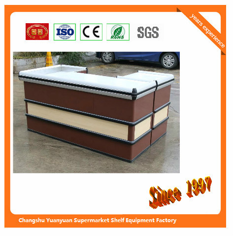 Automatic Checkout Counter with Transfer Belt with Motor