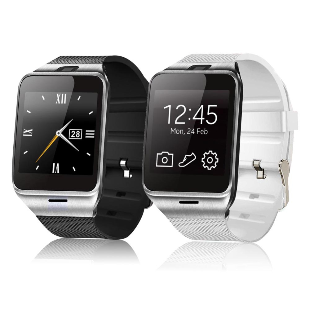 2016 Hot Dz09 Bluetooth Smart Watch for Android Phone Support SIM /TF Men Women Sport Wristwatch