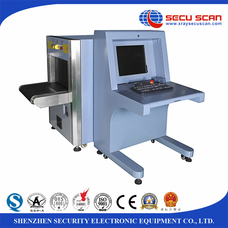 Small Size X Ray Luggage Scanning Machine for Subway, Metro, Hotel