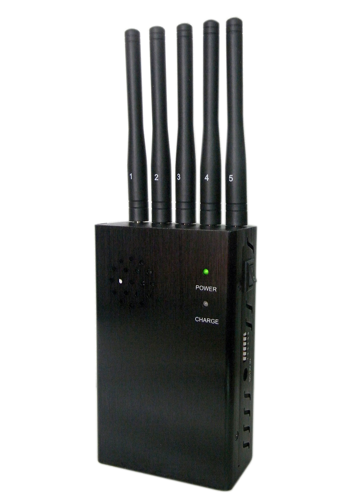 special phone jammer devices - China Wireless 5 Antenna 2g/3G/4G Jammer/Blocker, High Power Handheld Portable Cellphone Wireless Jamer-Omnidirectional Antennas - China 5 Band Signal Blockers, Five Antennas Jammers