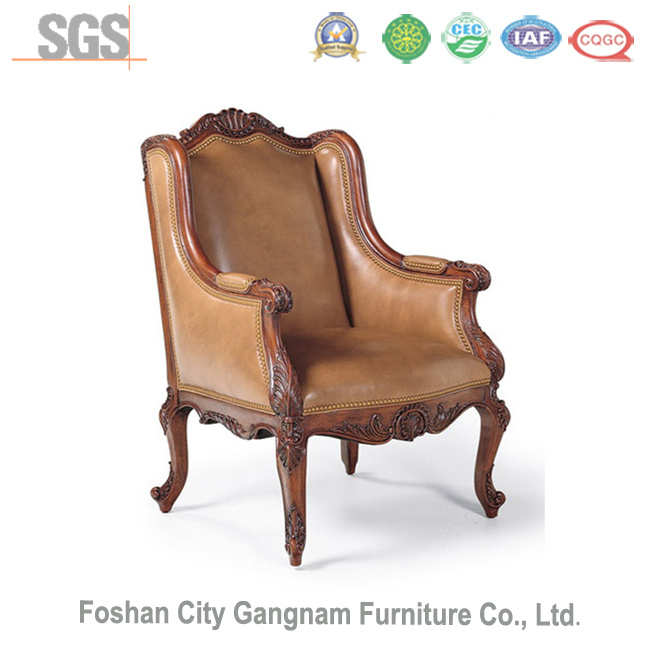 Antique American Style Hotel Leisure Chair / New Classic Villa Furniture