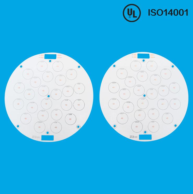 2oz Aluminium OSP Circuit Board for LED PCB