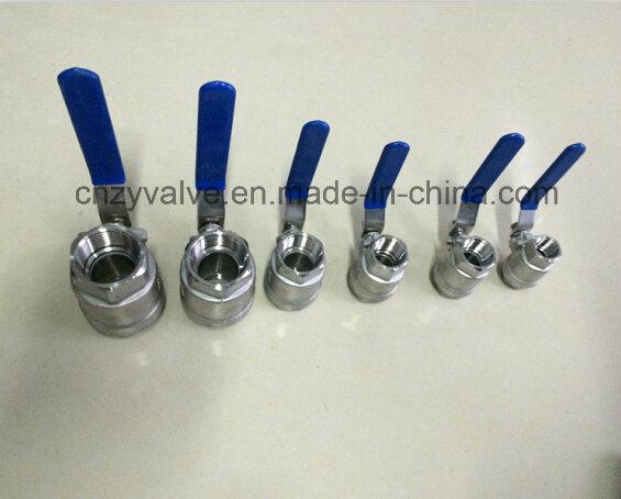 2PCS Stainless Steel Threaded Ball Valve (Q41F)