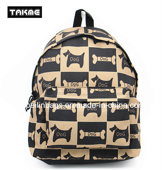 Fashion Printing Backpack Bag for School, Travel, Leisure