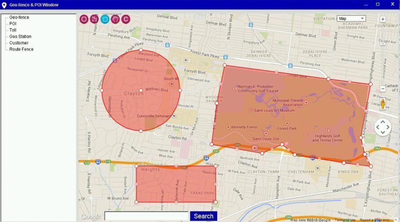 GPS Tracking Platform for Car GPS