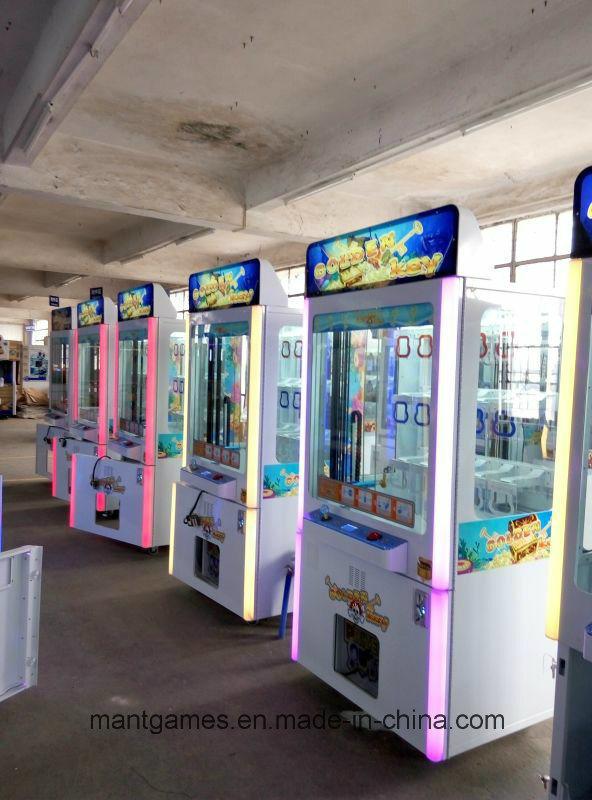Key Toys Vending Machine Mini Golden with LED Light