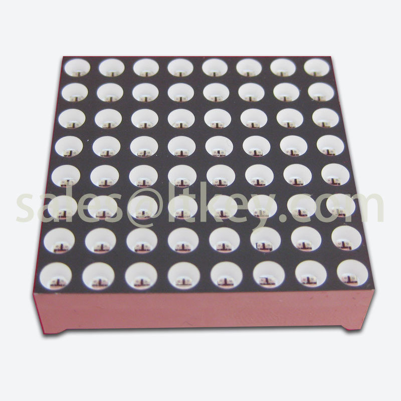 1.2 Inch 8X8 LED DOT Matrix with Water Clear DOT