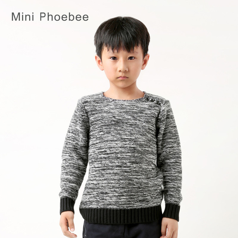 Fashion Winter Knitted Children Clothing Kids Apparel for Boys