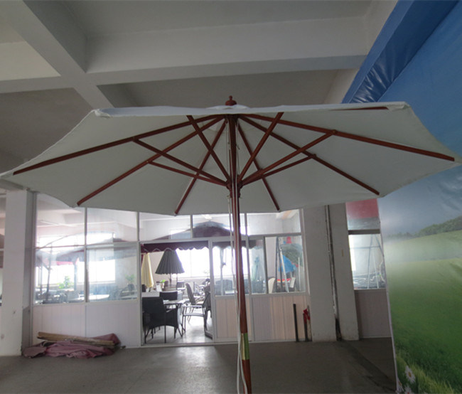 Outdoor Large Garden Wooden Beach Patio Umbrella on Sale
