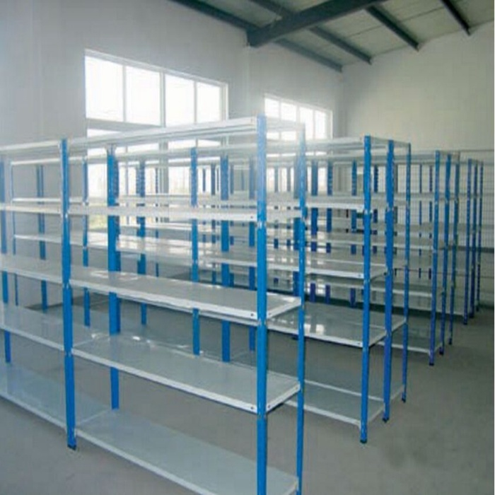 Light Duty Industrial Warehouse Storage Metal Rivet Racking