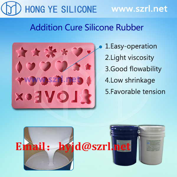 Food Grade Liquid Silicone Rubber Mold Making Silicones for Chocolate Candy Cake