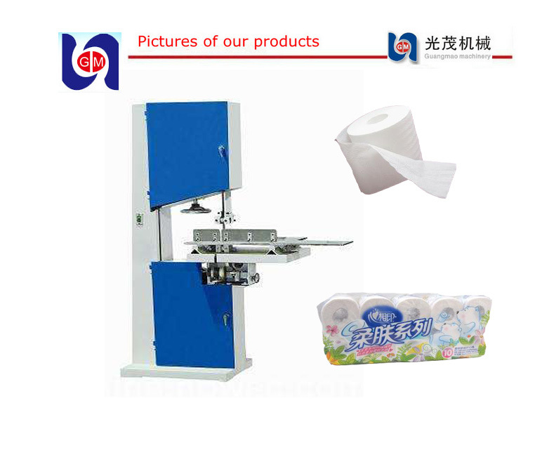 Cut Rolls Machine, Jumbo Roll Tissue Paper Cutter