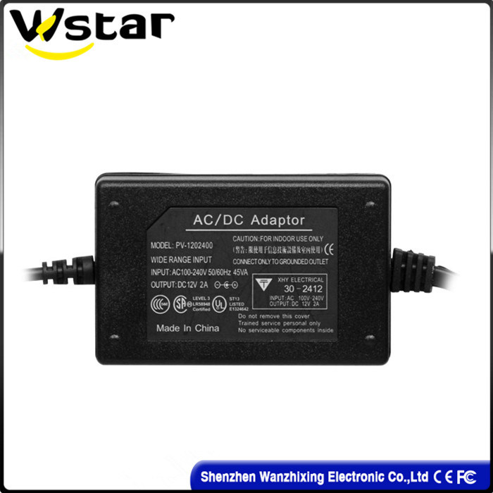 High Quality 12V 2A Power Supply Adapter