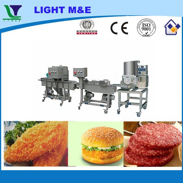 Hamburger Processing Line