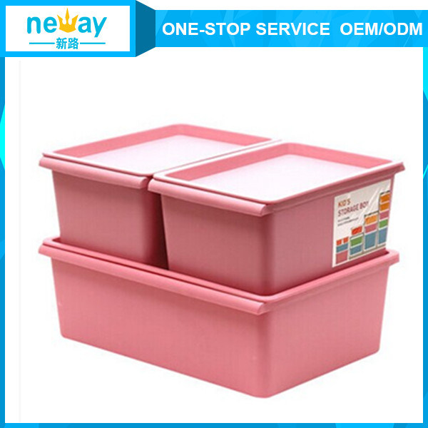 Big Size Toy Clothes Plastic Storage Box