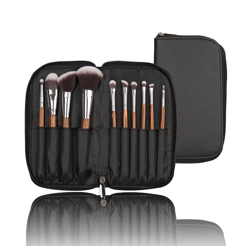 10PCS Nylon Hair Cosmetic Beauty Tool Makeup Brush