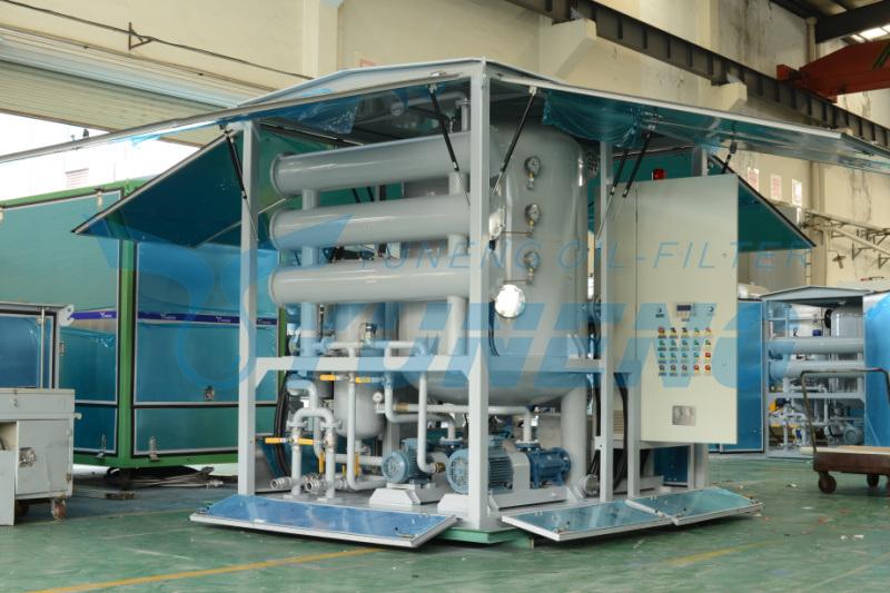 Transformer Oil Particles Refining Machine for Transformer Maintenance Yuneng Zja Series