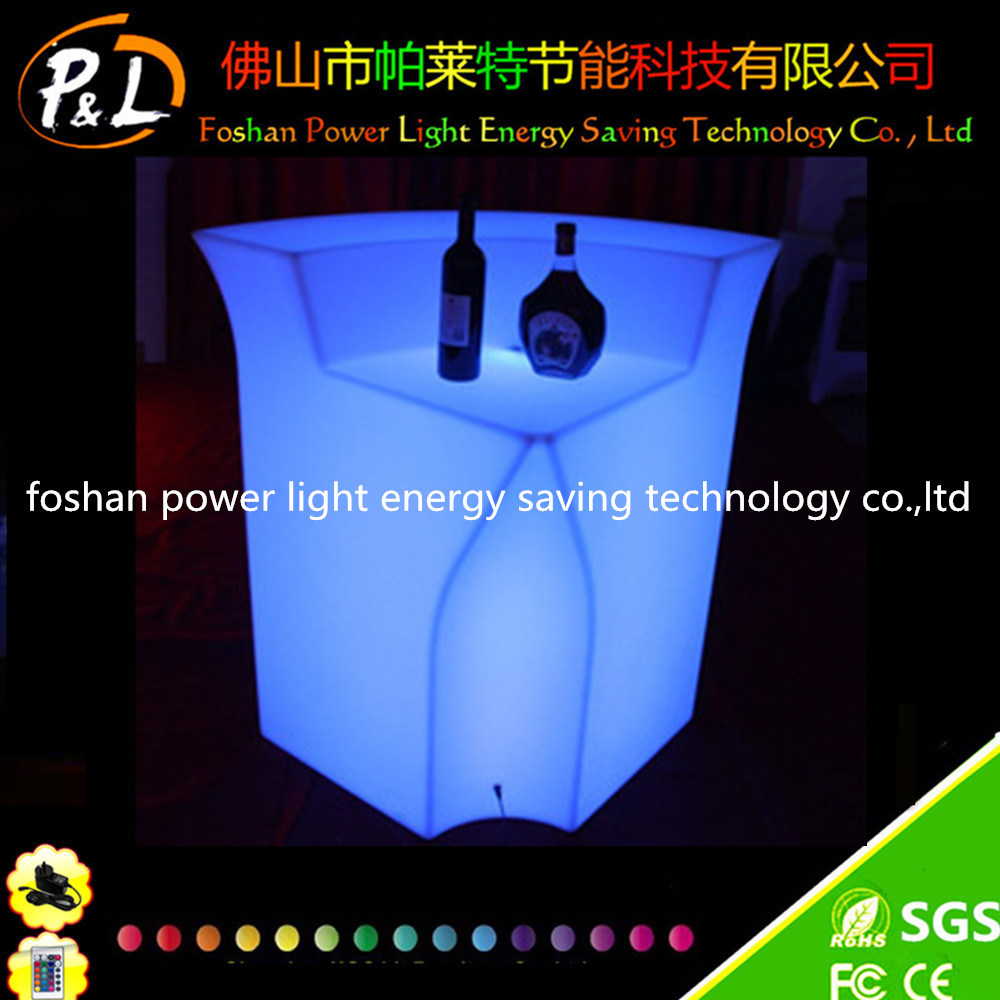16 Colors Changeable Party Glow LED Palstic Bar Counter