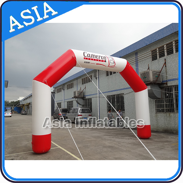 Air-Tight Inflatable Finish Line Floating on Water Arch for Water Sports Events