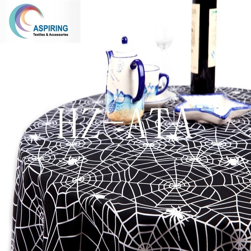 Printed Minimatt Fabric, Minimatte Table Fabric, 100%Polyester Minimatt