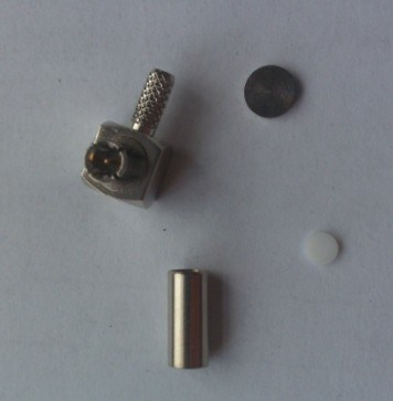Right Angle Ts9 Connector