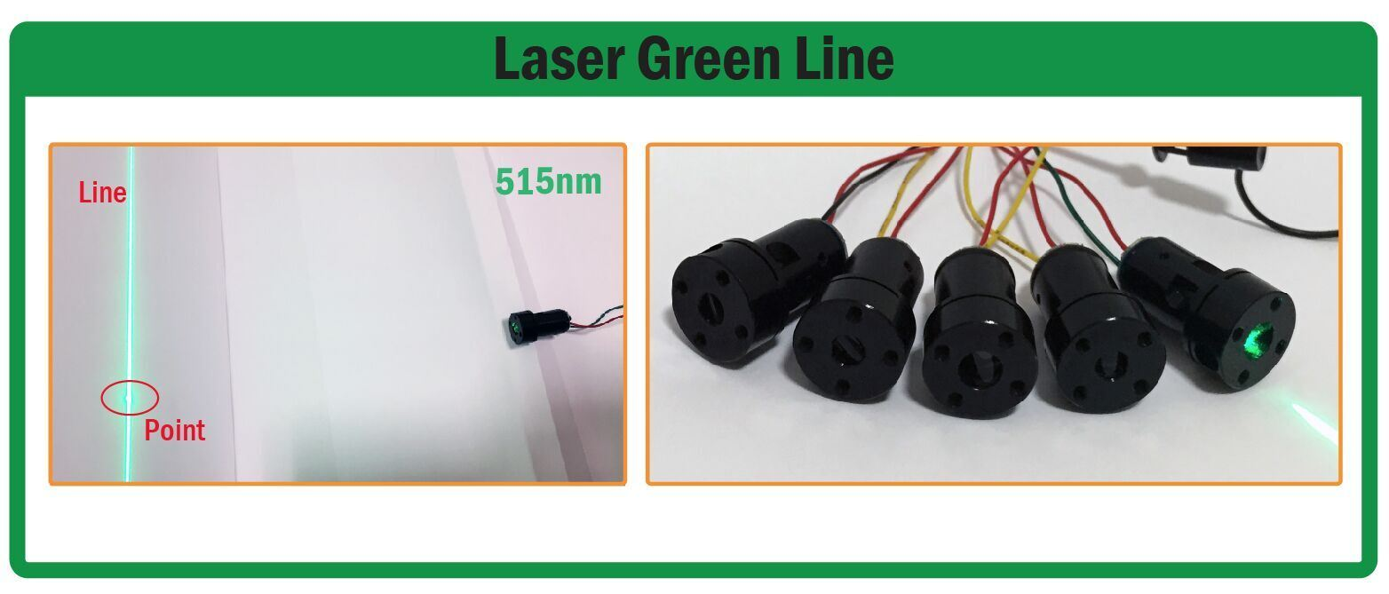 Red/Green Laser Module DOT /Line /360 Degree Module