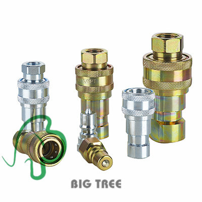 Flat Face Hydraulic Quick Coupling Quick Disconnect Coupling