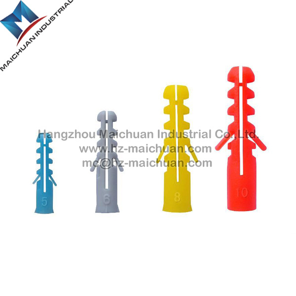 Nylon Plastic Anchor Screw Expansion Bolt M5-M45