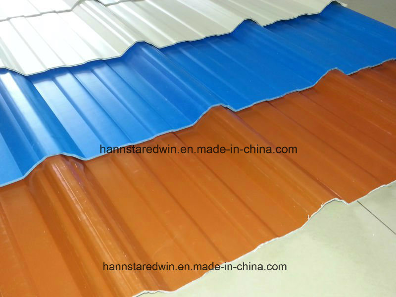 Factory Supplied Low Price Extruded Composite PVC Waterproof Roofing Sheet Material
