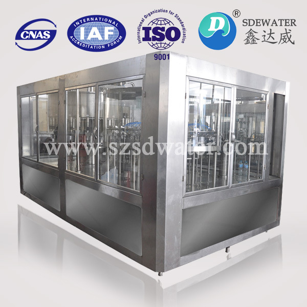 4000 Bottles Per Hour Mineral Water Automatic Filling Machine