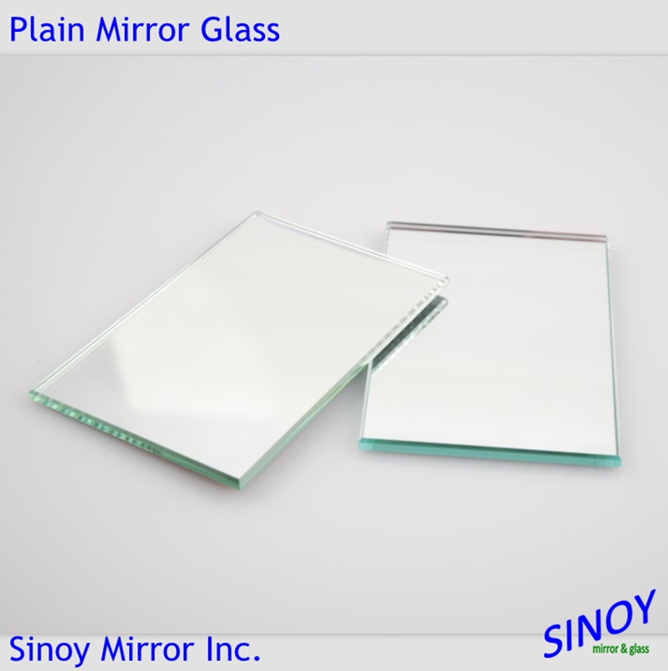Environment Friendly 2mm - 6mm Copper Free Lead Free Silver Mirror Glass for High End Applications