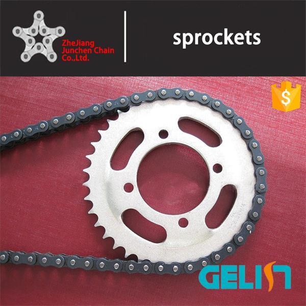 CD70 OEM Color Packing Box Motorcycle Driving Chain and Sprocket