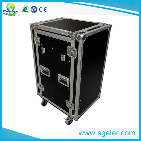 Heavy Duty & Low Price Customized Outdoor Show Flight Case with Drawer