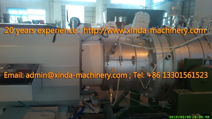 200-630mm PVC Pipe Production Line Pipe