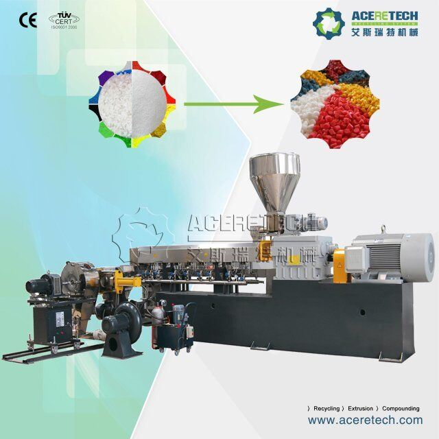 PVC Cable Material Compounding Extruder