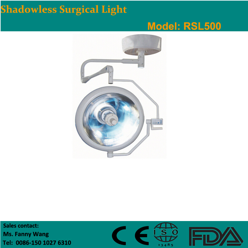 2015 Shadowless Ceiling Surgical Light (RSL500) -Fanny
