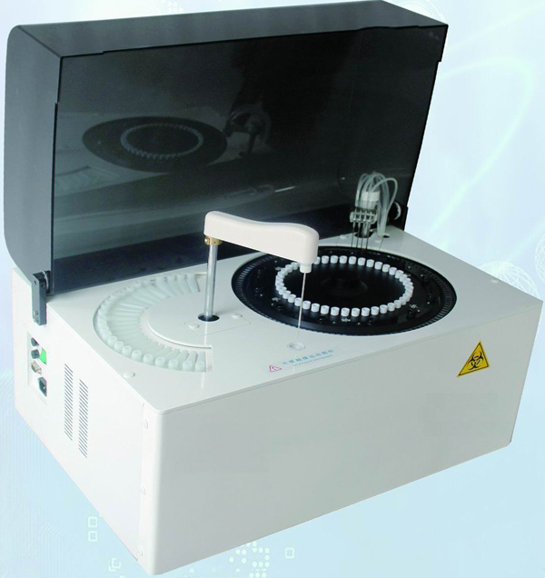 USD2899 Automatic Blood Chemistry Analyzer 200 Tests/H Fully Automatic Biochemistry Analyzer with CE