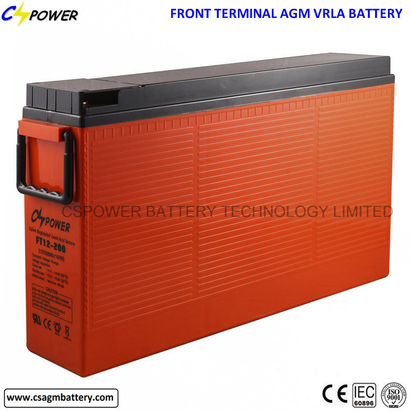 IEC Approved 12V200ah Akkumulators Solar Accumulators with Long Life 15years