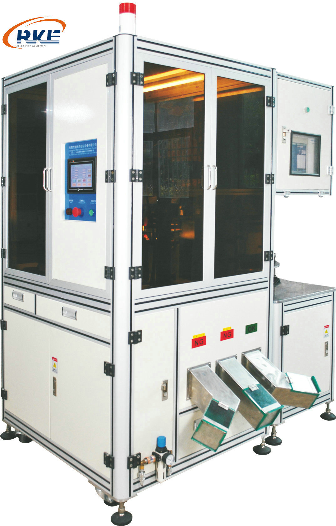 Fastener Inspection and Sorting Machine