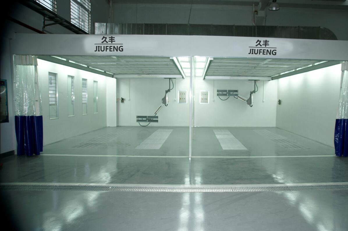 Jf Auto Repair Line of Preparation Room Polish Booth Auto Prep Booth