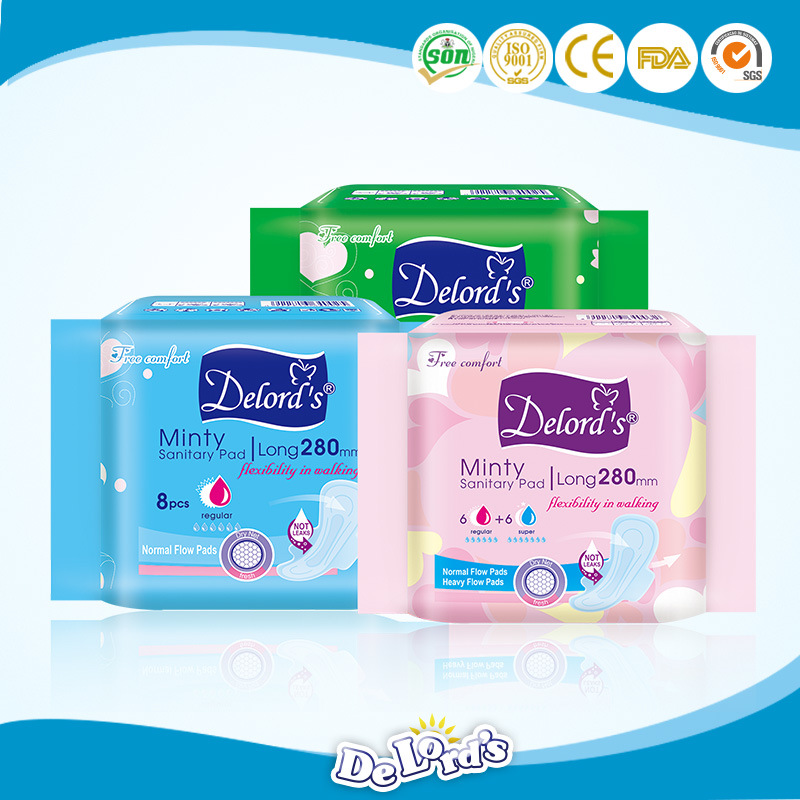 Good Quality Ultra Absorbent Lady Sanitary Napkins