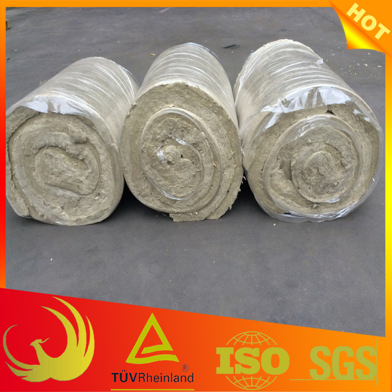 Building Material Fireproof Thermal Insulation Rock Wool Blanket