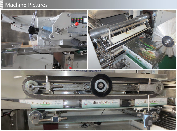Automatic High Speed Flow Thermal Contraction Packing Machine
