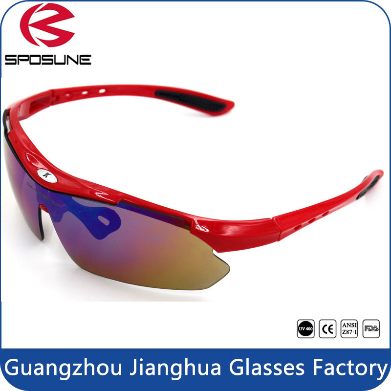Factory Top Sale High Quality UV400 Sports Baseball Sunglasses