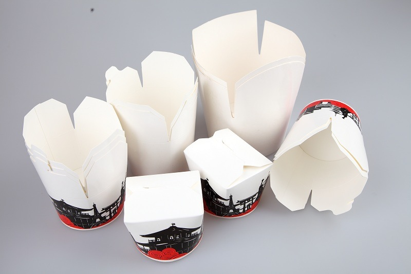 Automatic Paper Box Making Machine for Food Take out Box