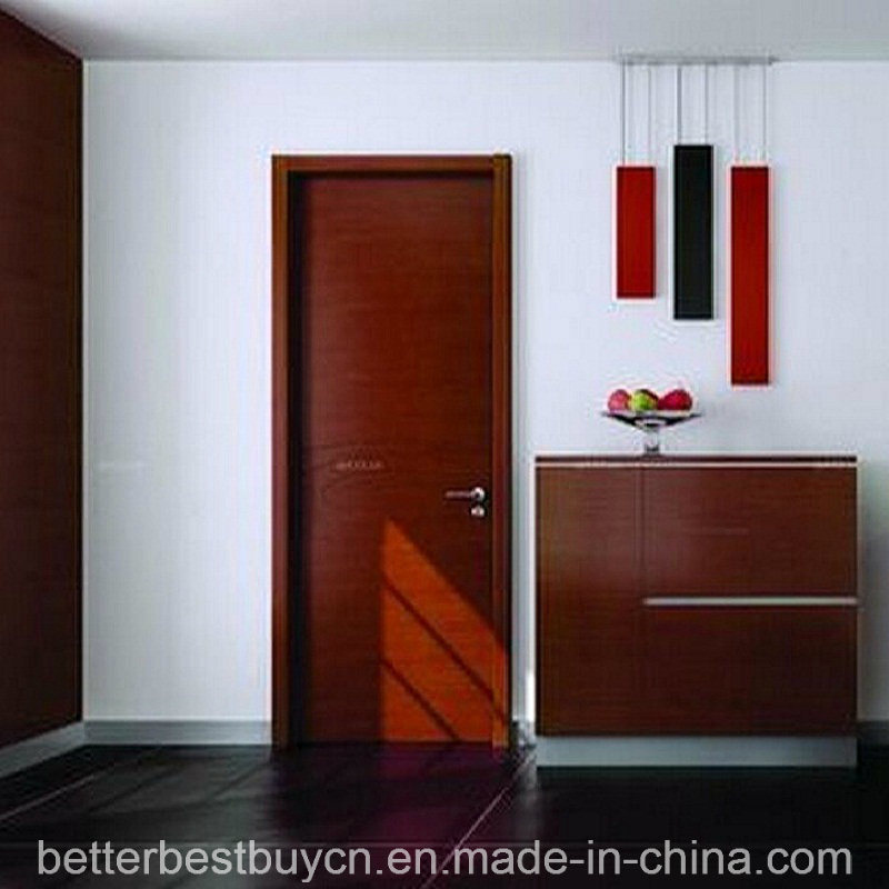 Standard Model Lower Price PVC Wood Door