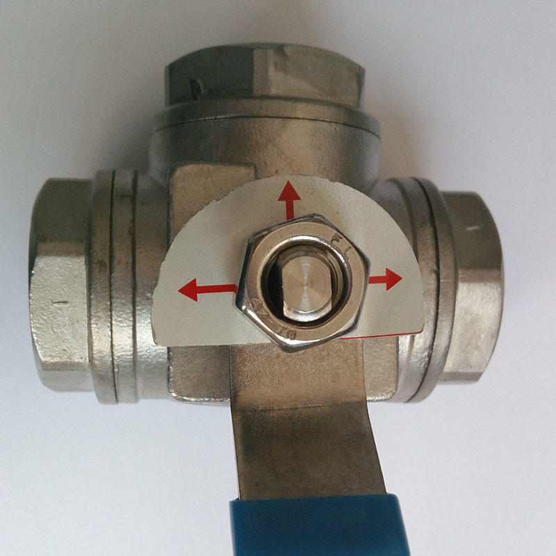Pn16 Stainless Steel Three Way Ball Valve