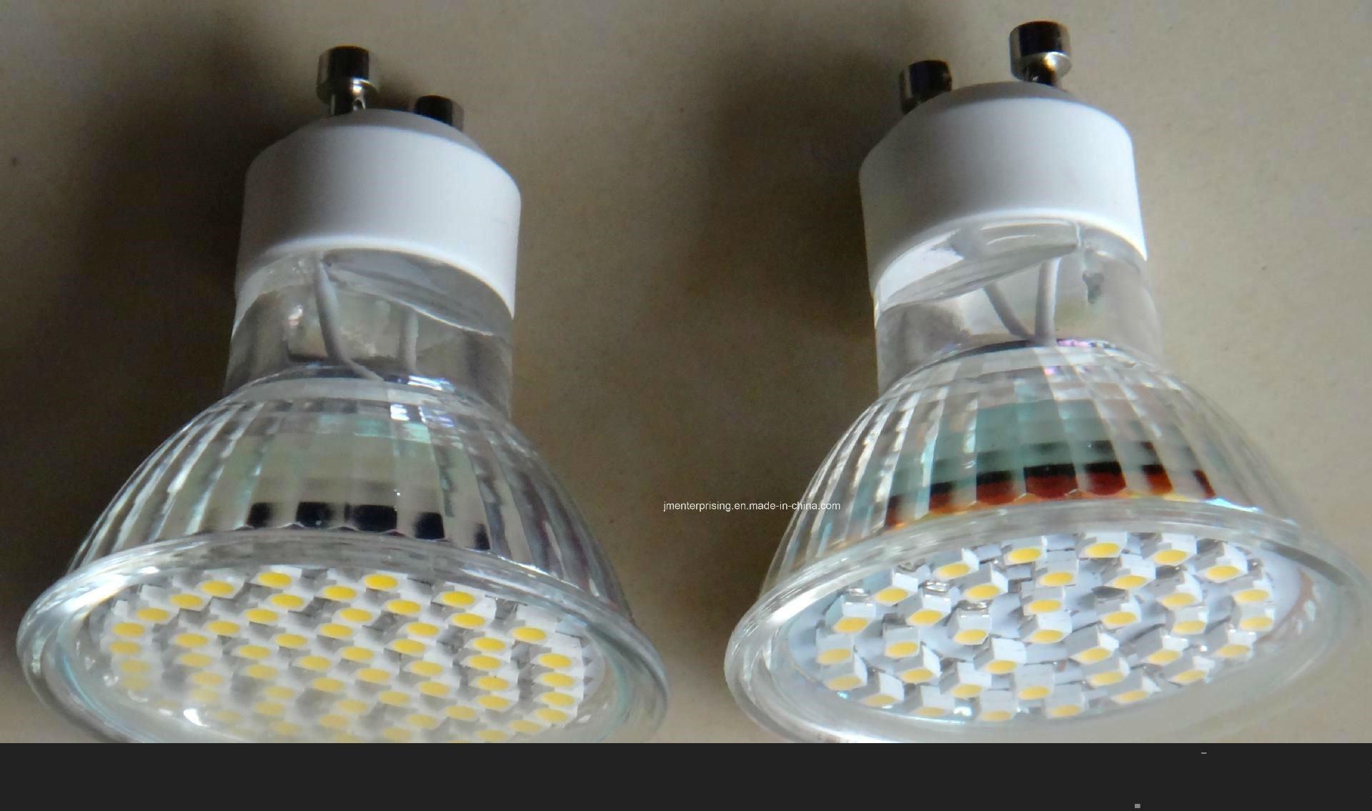 Glassgu10 Gu5.3 MR16 E27 B22 LED Spot Light
