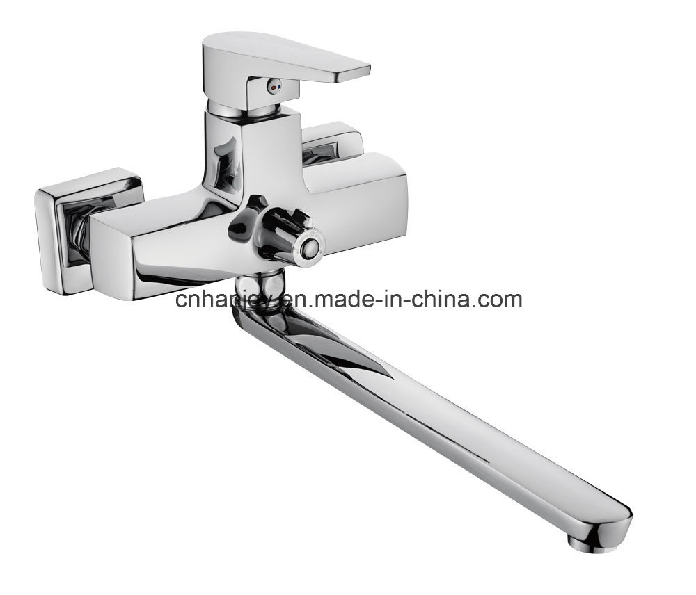 New Model Wall Mounted Single Handle Bathtub Faucet (H02-208)