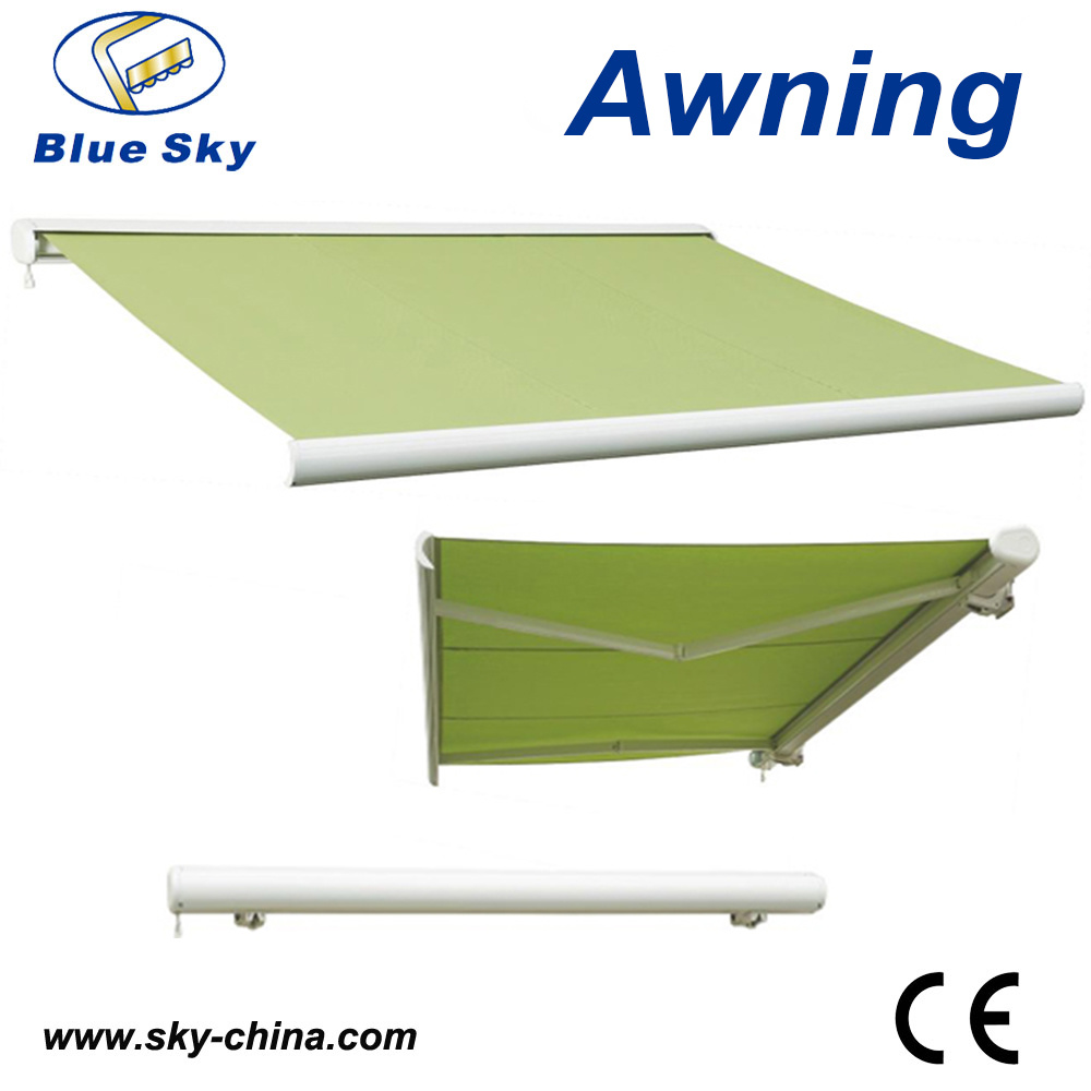 Balcony Electric Polyester Retractable Awning (B4100)